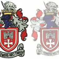Crest Embroidery Digitizing