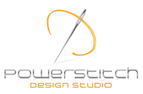 powerstitch design studio Powerstitch design studio has been providing superior embroidery digitizing services to the business for past eight years we've attained a name of being extremely.