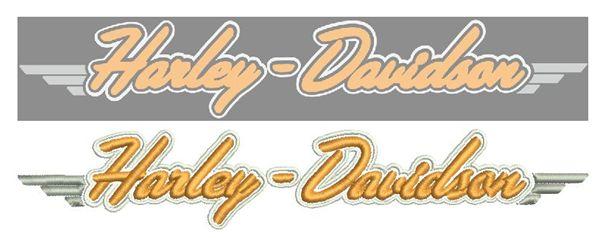 harley-davidson embroiderydigitizing
